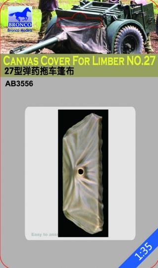 Bronco Models - Canvas Cover For Limber No.27