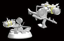 Bronco Models - German Infrared Night-Vision Devices Infrarot-Scheinwerfer