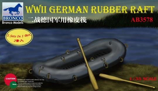Bronco Models - WWII German Rubber Raft