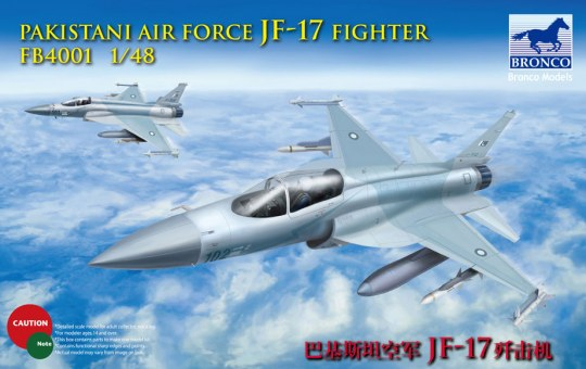 Bronco Models - Pakistan Air Force JF-17 fighter