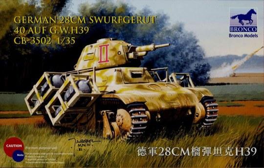 Bronco Models - German 28cm Swurfgerat 40 Auf G.W.H39