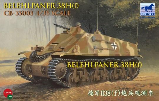 Bronco Models - Befehlpanzer 38H(f)