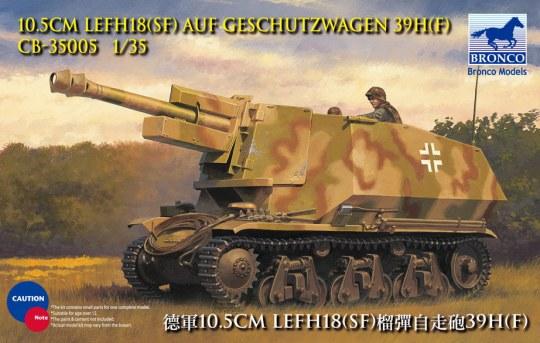 Bronco Models - 10.5cm leFH18(Sf) a.Geschutzwagen 39H(f
