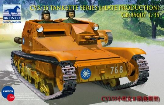 Bronco Models - CV L3/35 Tankette Serie II
