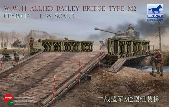 Bronco Models - WWII Allied Bailey Bridge Type M2