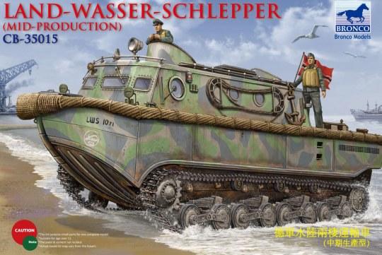 Bronco Models - Landwasserschlepper (Middle Production) Mid Production
