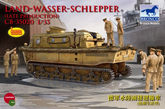 Bronco Models - Landwasserschlepper (late Production)