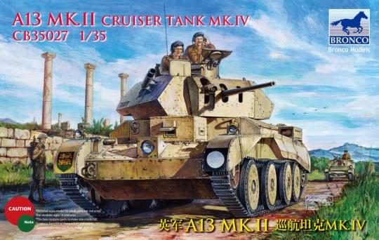 Bronco Models - A13 Mk.I Cruiser Tank Mk. IV