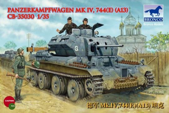 Bronco Models - PanzerKampfwagen Mk.IV,744(e)(A13)