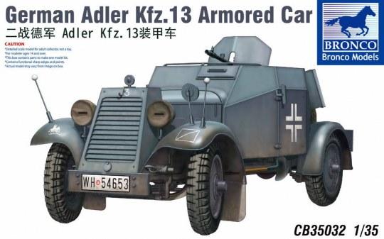 Bronco Models - Adler Kfz.13