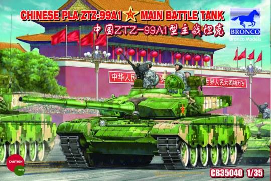 Bronco Models - Chinese PLA ZTZ99A1 MBT