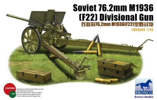 Bronco Models - Soviet 78.2mm M1936 (F22) Divisional Gun