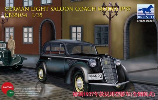 Bronco Models - German Light Saloon Coach Mod.1937