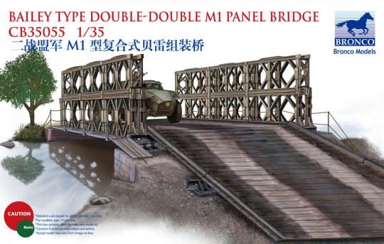 Bronco Models - Bailey Type Double-Double M1 Panel Bridg