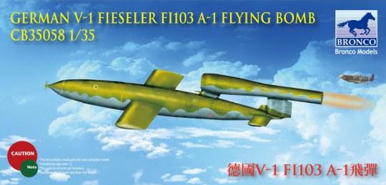 Bronco Models - German V-1 Fi103 A-1 Flying Bomb Flying Bomb
