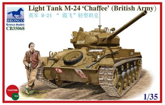 Bronco Models - Light Tank M-24 Chaffee (British Version
