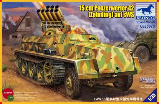 Bronco Models - 15cm Panzerwerfer 42 (Zehnling) auf sWS