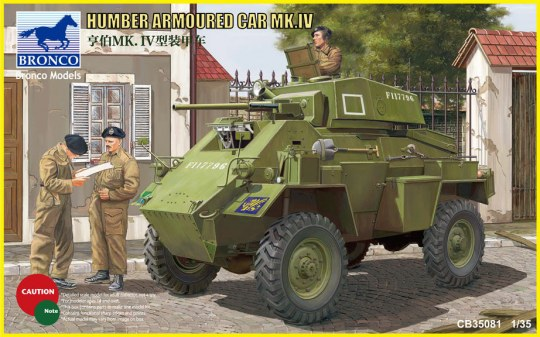 Bronco Models - Humber Armored Car Mk.IV