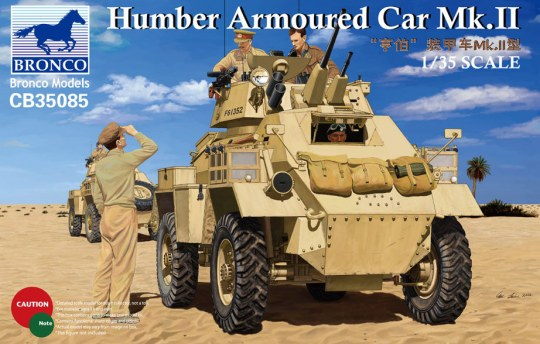 Bronco Models - Humber Armoured Car Mk.II