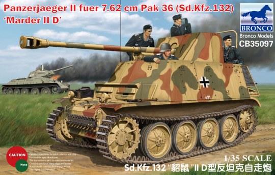 Bronco Models - Sd Kfz 132 Marder IID