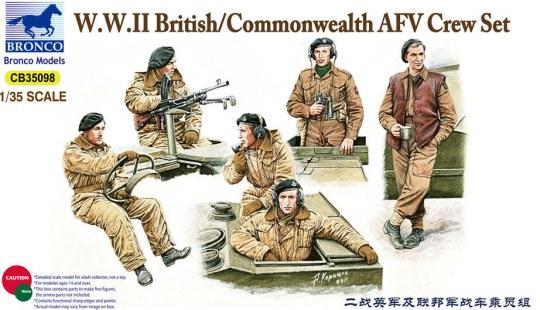 Bronco Models - British/Commonwealth AFV Crew set