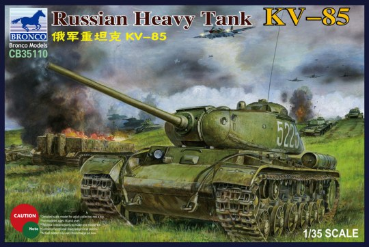 Bronco Models - Russian Heavy Tank KV-85