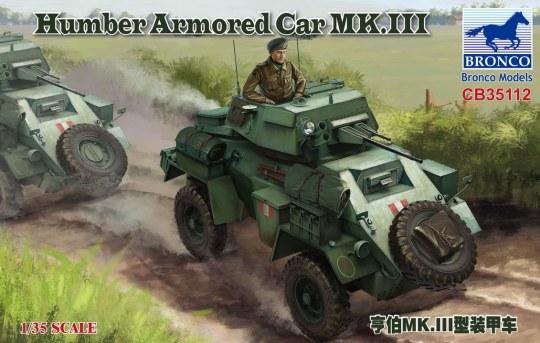 Bronco Models - Humber Armored Car MK.III