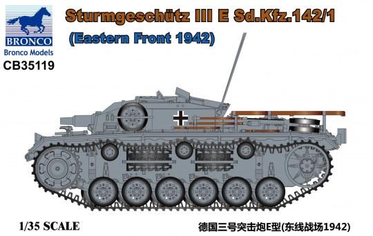 Bronco Models - Sturmgeschütz III E Sd.Kfz.142/1(Eastern Front 1942)