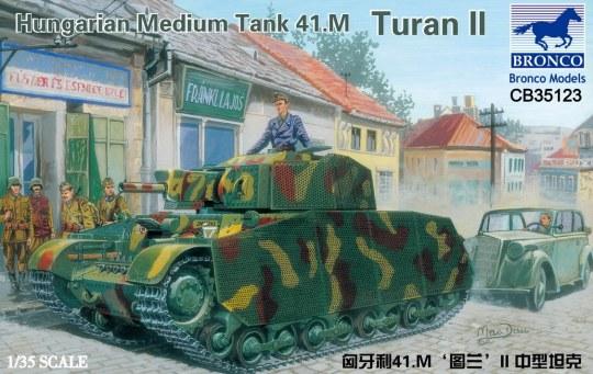 Bronco Models - Hungarian Medium Tank 41.M Turan II
