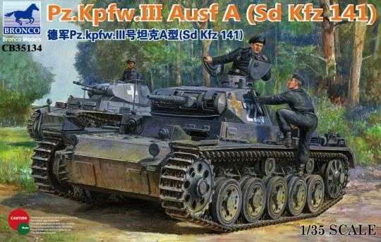 Bronco Models - Panzerkampfwagen III Ausf.A (Sd Kfz 141)