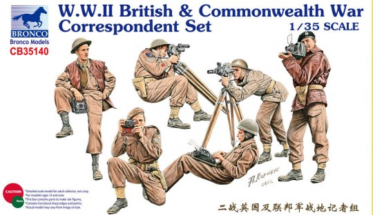 Bronco Models - W.W.II British & Commonwealth War