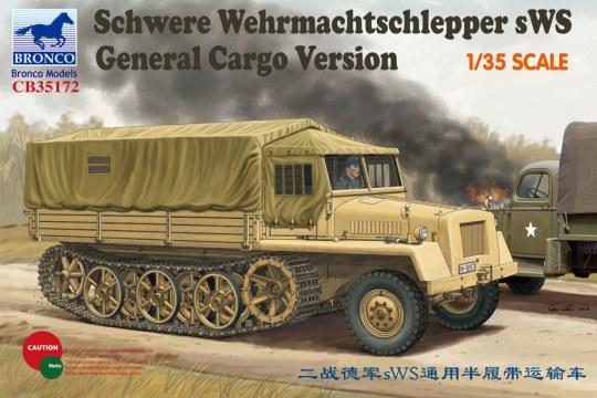 Bronco Models - German sWs Tractor Cargo Version