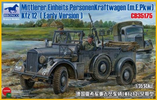 Bronco Models - Mittlerer Einheits Personenkraftwagen (m.E.pkw) Kfz12 (Early Version)