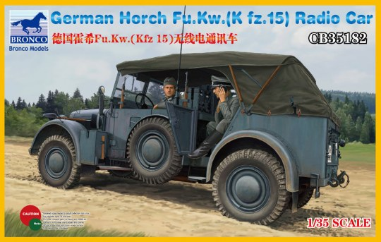 Bronco Models - Horch Fu.Kw.(Kfz.15) Radio Car