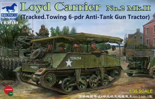 Bronco Models - Loyd Carrier No.2 Mk.II