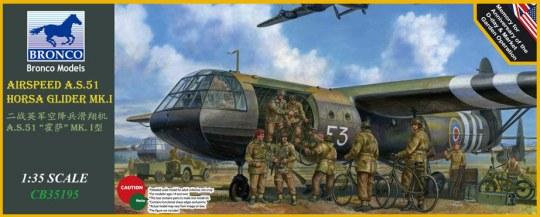 Bronco Models - Airspeed A.S.51 Horsa Glider Mk.I.