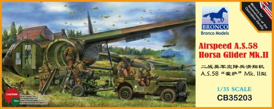 Bronco Models - Airspeed A.S.58 Horsa Glider Mk.II