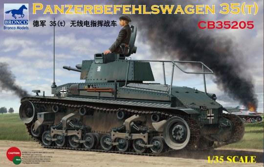 Bronco Models - Panzerbefehlswagen 35(t)