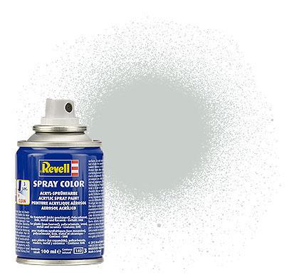Spray Color Gris Clair Satiné, Bombe, 100ml
