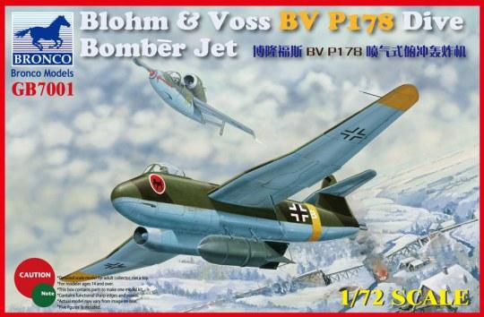 Bronco Models - Blohm & Voss BV P178 Dive Bomber Jet
