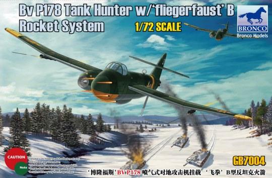 Bronco Models - BV P178 Tank Hunter w/Fliegerfaust'B Rocket System