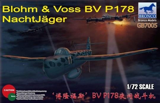 Bronco Models - Blohm & Voss BV P178 NachtJäger
