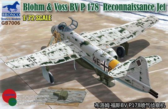 Bronco Models - Blohm & Voss BV P.178 Reconnaissance Jet