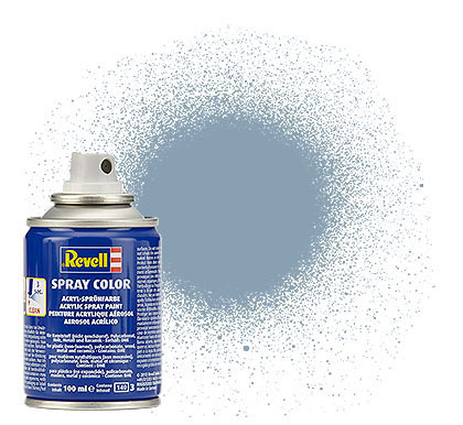 Spray Color Grau, seidenmatt, 100ml