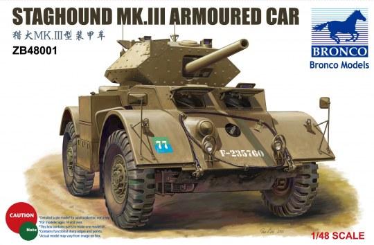 Bronco Models - Staghound Mk.III Armoured Car
