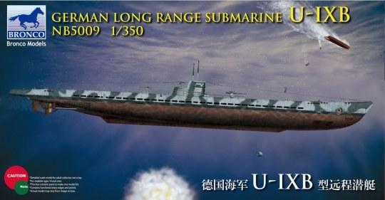 Bronco Models - German Long Range Submarine Type U-IX B