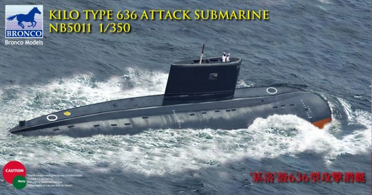 Bronco Models - Kilo Class (Improved) Attack Submarine