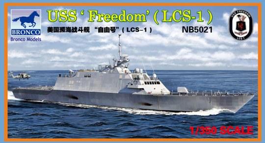 Bronco Models - LCS-1 USS'Freedom'