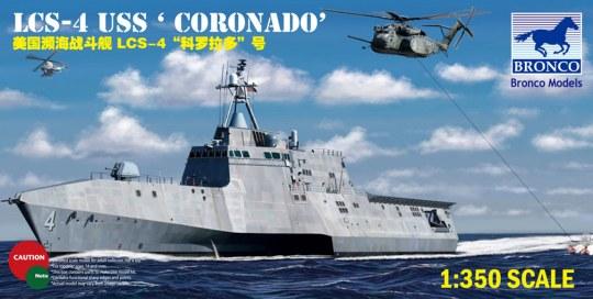 Bronco Models - USS'Coronado'(LCS-4)