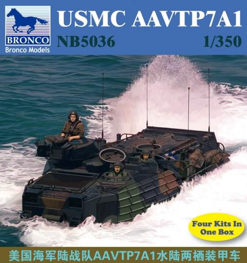 Bronco Models - USMC AAVTP7A1